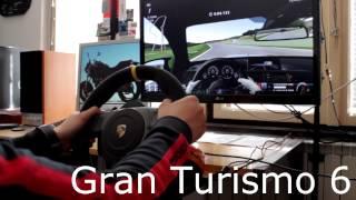 Fanatec Porsche 911 GT3 RS v2 Racing wheel - Gameplay GT6 PS3