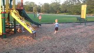 Playing at the Park with Grandma
