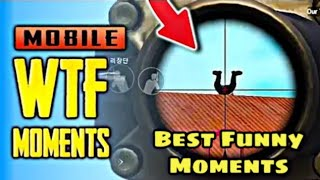 PUBG MOBILE FUNNY MOMENTS , EPIC FAILS & WTF MOMENTS