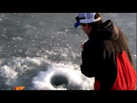 Brian (B-Cav) Cavanaugh catching a nice Pactola Lake Trout