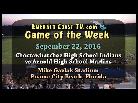 Choctawhatchee Indians vs Arnold Marlins (HD) - September 22, 2016