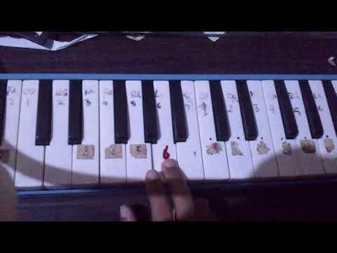 Not angka pianika kaulah ibuku by iwad
