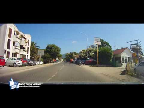 ROAD TRIP: MONTENEGRO ADRIATIC COAST ROAD from HERCEG NOVI to ULCINJ / ADA BOJANA (FKK)