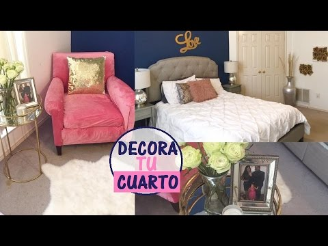 Ideas para decorar tu rec mara con poco dinero youtube for Ideas para decorar una recamara