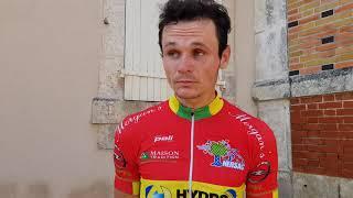 Rudy Fiefvez après sa victoire à Villejesus