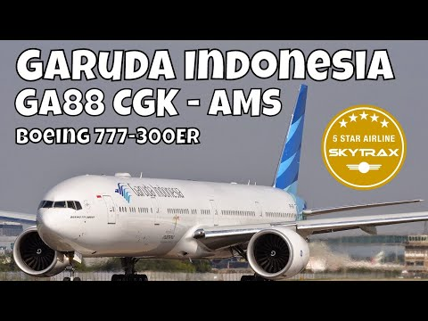 Flight Report Garuda Indonesia Boeing 777-300 ER Business Cl