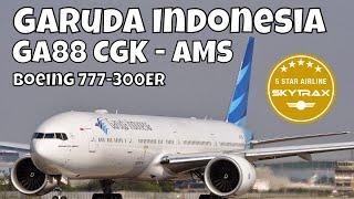 Flight Report Garuda Indonesia Boeing 777-300 ER Business Class Jakarta Amsterdam