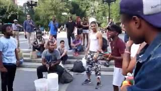 Street Rap Music at Union Sq. New York City Video