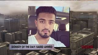 Saeed Ahmed | Donkey Of The Day