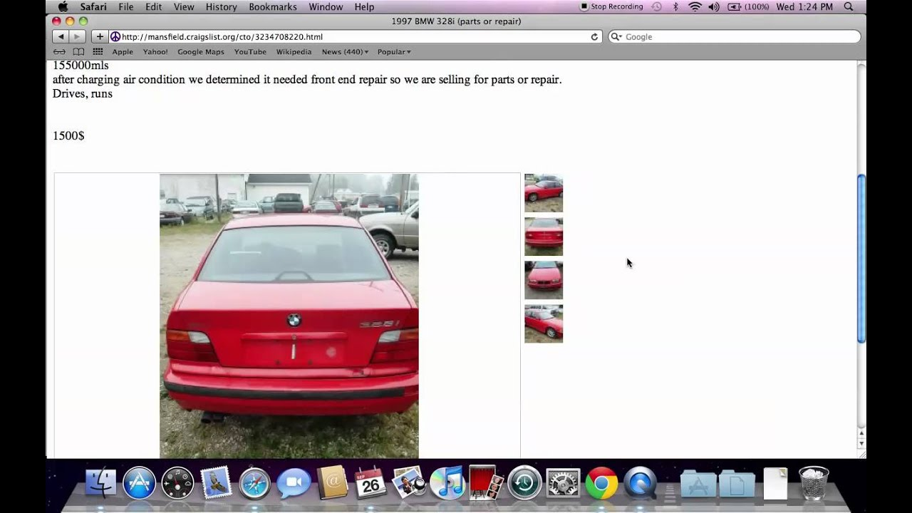 Craigslist Cars In Mansfield Ohio