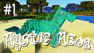 A WEIRD BEGINNING - MYSTIC MESA MODDED MINECRAFT (EP.1)