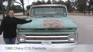 1966 Chevy C10 Truck Rebuild the Introduction.
