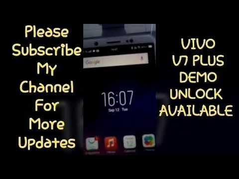 Vivo Demo fix for Qualcomm Phone [Y53,Y55,V5 Plus, V7 Plus] - Flash By  Latest Qfil n edl mode