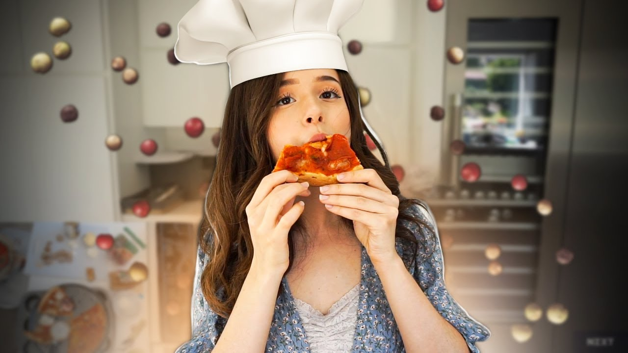 making pizza for u