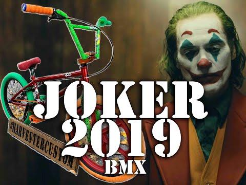 "Joker ""Joaquin Phoenix"" 2019 CUSTOM BMX Build @ Harvester Bikes"