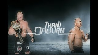 Cover images Theemai Dhan Vellum | Brock Lesnar
