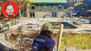 Fallout 76. Lakehouses - We Explore More Mansions (PS4 gameplay. Episode 15)
