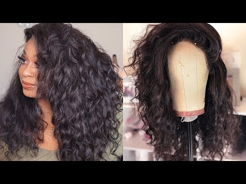 How to make a frontal wig  UPDATED VERY DETAILED  FT YWIGS loose wave