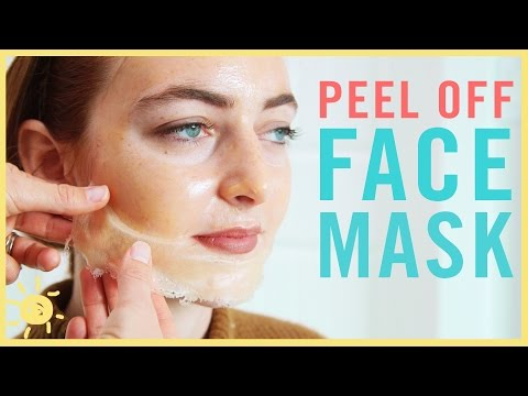 DIY | Best Peel Off Face Mask