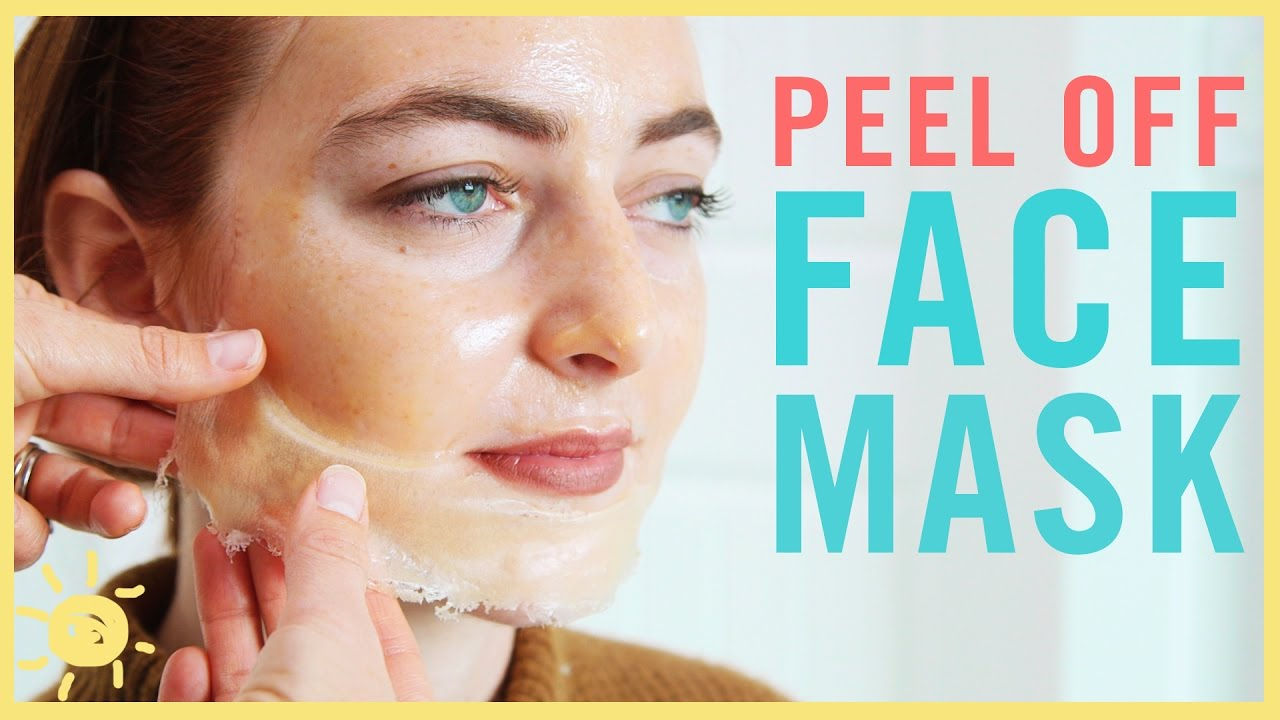 Diy Best Peel Off Face Mask Youtube