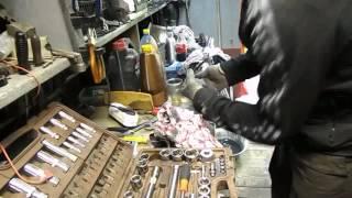 Ремонт вилки мотоцикла Yamaha Dragstar XVS650. подробный обзор
