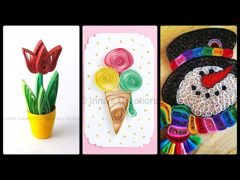 #colorful-paper-quilling-art-for-#adults-/-quilling-#paper-crafts-for-#quarantines-vacation