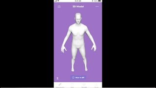 3DLOOK mobile body scanning for e-commerce and retail
