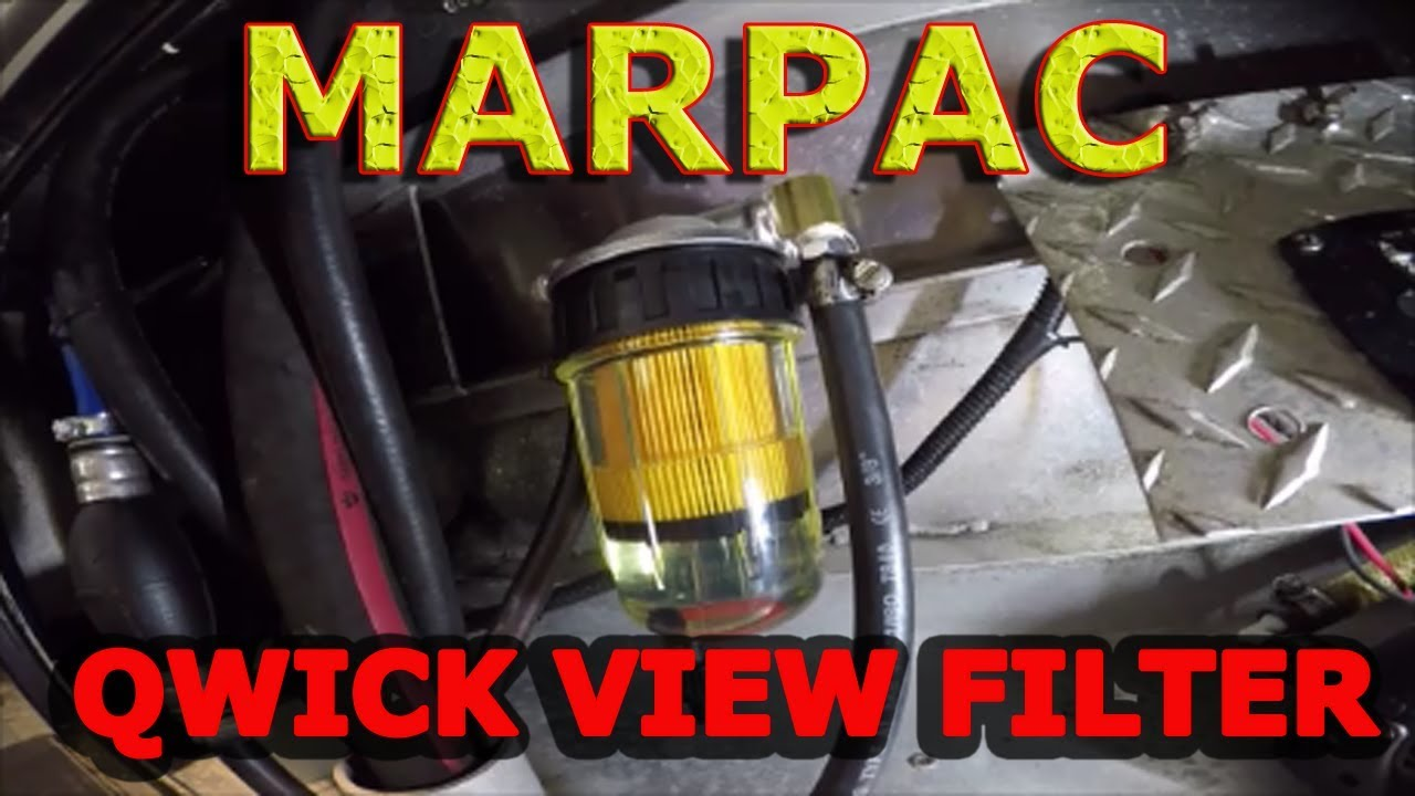How To Marpac Qwick View Fuel Filter Better Cheaper Youtube Russell Filters