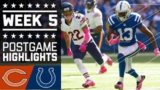 Bears vs. Colts | NFL Week 5 Game Highlights