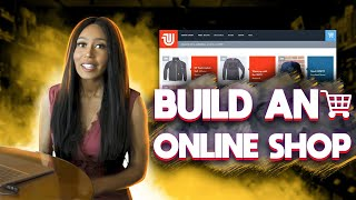 How to create an Ecommerce Website in a day for beginners