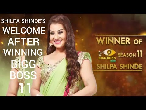 Shilpa Shinde's WELCOME After Winning Bigg Boss 11