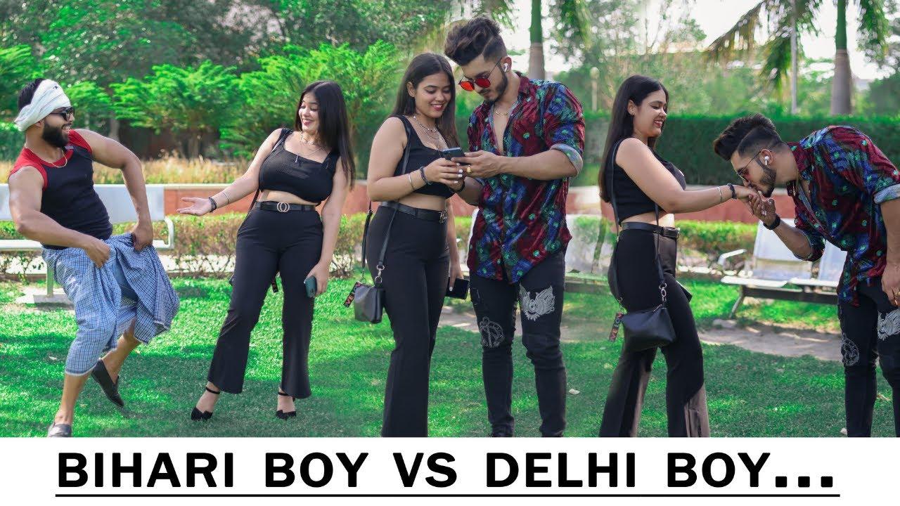 Village VS Delhi Boy : Who can Get More Girls? || Sam Khan