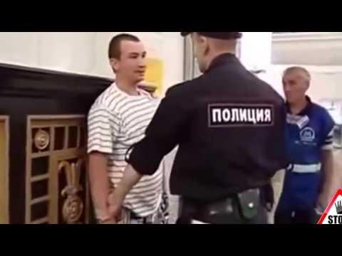 Драки с ментами ЛУЧШИЕ уличные драки 2016