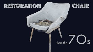 RESTORATION CHAIR OF THE 70'S DIY furniture of the USSR