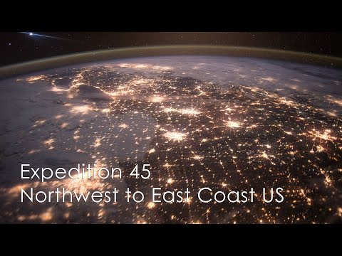 Northwest to East Coast United States