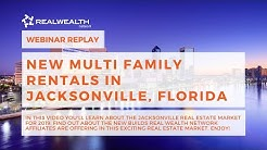 New Multi Family Rentals in Jacksonville, Florida