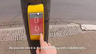 Trafik ışıkları ve Pong oyunu