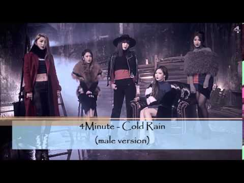 4Minute - Cold Rain (male version)