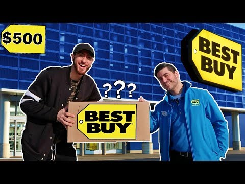 EPIC $500 BEST BUY MYSTERY BOX OPENING CHALLENGE!