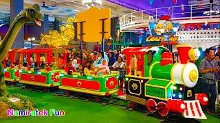 Naik Odong-odong Kereta Api Anak & Bermain Mainan Anak banyak sekali di Trans Mart Trans Studio mini