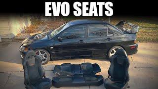EVO 8/9 Seat Removal / Install Howto - Mitsubishi Lancer Evolution 8
