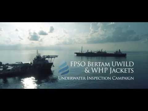 Bertam FPSO & Wellhead Platform underwater inspection