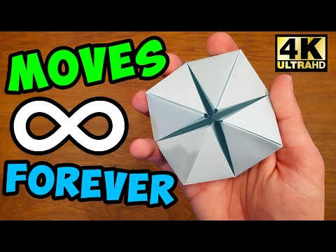 how-to-make-a-paper-moving-flexahedron---fun-&-easy-origami