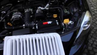 K&N Air Filter Sound Comparison Toyota GT86 / Scion FRS / Subaru BRZ