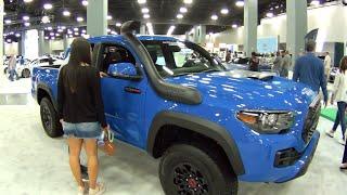 2019 Toyota Tacoma TRD Pro at Miami Beach Auto Show