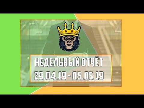 Недельный видео-отчёт 29.04.19 - 05.05.19 - RichMonkey.biz