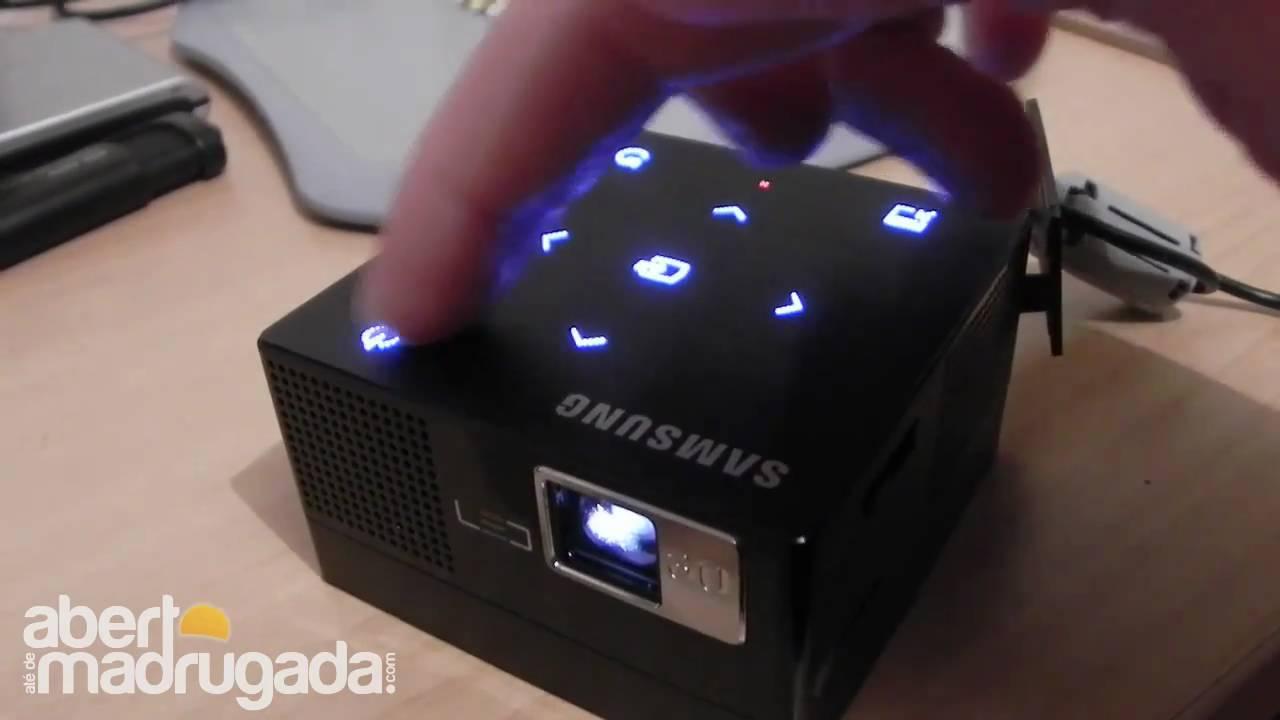 Samsung Sp H03 Projector Port 225 Til Youtube