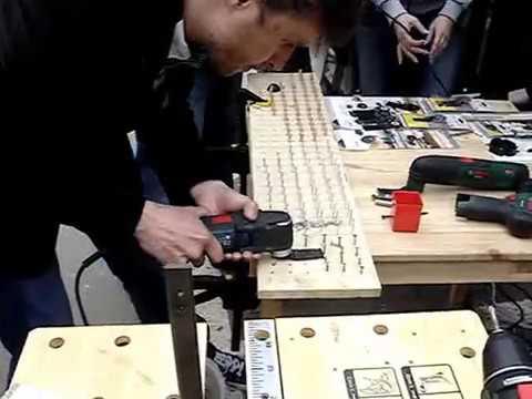Ножка (опора) для стола 710 х 60 мм. МАТОВЫЙ НИКЕЛЬ. Мебельная .