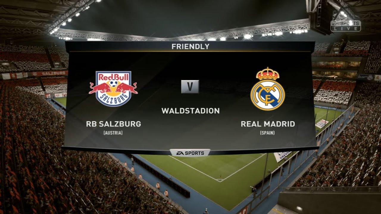 Download red bull salzburg vs real madrid Pre-season Friendly 2019/20 FIFA19