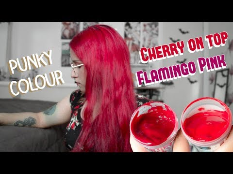 Punky Colour Cherry On Top Flamingo Pink Youtube